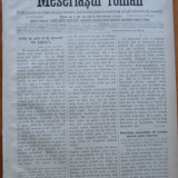 Ziarul Meseriasul Roman, nr. 5, 1887, Brasov
