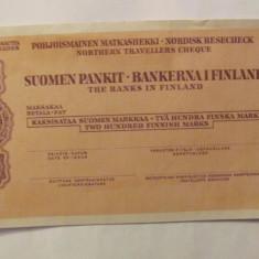 CY - CEC vechi de calatorie 200 markkaa mark FINLANDA