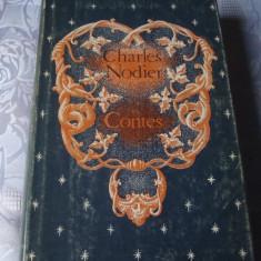 Charles Nodier - Contes - in franceza - ed Raduga Moscova 1985 - Carte in franceza