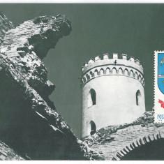 7016 - Romania (93)- Dambovita, TARGOVISTE, Turnul Chindiei - postcard - unused - Carte Postala Muntenia dupa 1918, Necirculata, Printata