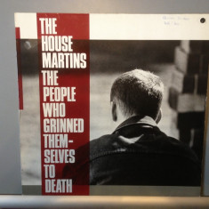 THE HOUSEMARTINS - THE PEOPLE WHO GRINNED (1987/ CHRYSALIS REC/RFG ) -  Vinil