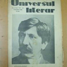 Universul literar 1 decembrie 1929 Alexandru Vlahuta