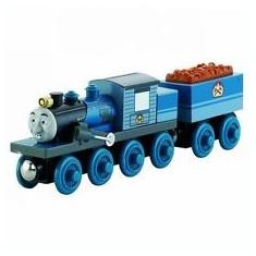 Locomotiva Ferdinand, colectia Thomas si prietenii sai, Fisher Price - Trenulet Fisher Price, 4-6 ani, Lemn, Baiat