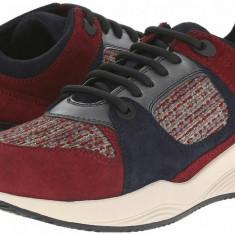 Pantofi sport Geox Omaya - Adidasi dama Geox, Burgundy
