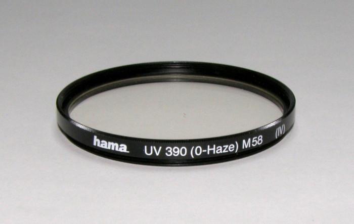 Filtru UV marca Hama 58mm(04)