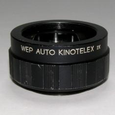 Teleconvertor WEP AUTO KINOTELEX 2X montura M42(19) - Teleconvertor Obiectiv Foto
