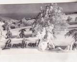 Bnk cp Iarna pe Muntele Semenic - circulata, Printata