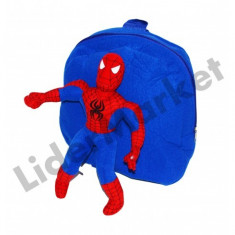 Rucsac cu papusa Spiderman pentru copii