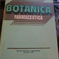 BOTANICA FARMACEUTICA   AVRAM  RADU