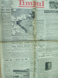 Timpul 5 februarie 1945 Declaratia PNL Iasi sinistrati Galati in Capitala
