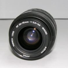Obiectiv Yashica AF 35-70mm montura Y/C pentru piese sau reparat(1212) - Obiective RF (RangeFinder)