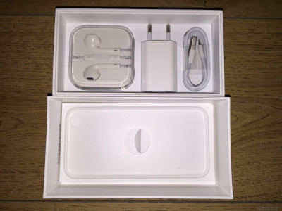 Incarcator priza+Cablu lightning ORIGINALE 100% NOI pt iPhone 5,5S,6,6S foto