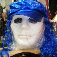 Masca Omul misterios, party man, JabbaWockeeZ, Hip Hop, culoare la alegere - Masca carnaval, Culoare: Alb, Albastru, Negru