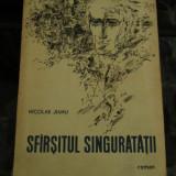 SFIRSITUL SINGURATATII N. JIANU ROMAN