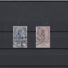 UNGARIA 1913, MI 143 SI 144, STAMPILATE, LOT 2 ST