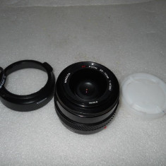 Vand obiectiv pe montura MINOLTA/SONY AF 35-70mm 4 MACRO - Obiectiv DSLR Sony, Macro (1:1), Minolta - Md