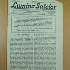 Lumina satelor 1 mai 1909 Ploiesti Ploesti Aricesti Cornu Malaesti Calugareni - Ziar