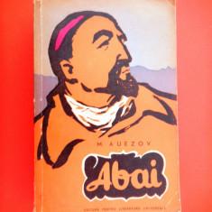 ABAI M Auezov volumul 2 - Roman istoric
