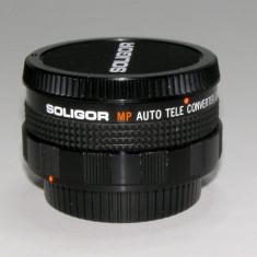 Teleconverter 2x Soligor montura Canon FD(27) - Teleconvertor Obiectiv Foto