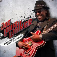 JOE LOUIS WALKER Everybody Wants A Piece (cd) - Muzica Blues