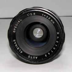 Obiectiv Albinar 1:2.8 35mm montura M42 pentru piese sau reparat(64)
