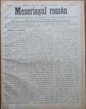 Ziarul Meseriasul Roman , nr. 23 , 1887 , Brasov
