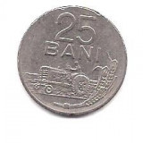 No(5) moneda- ROMANIA- 25 Bani 1966