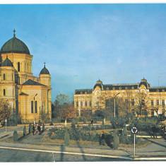 7018 - Romania ( 187 ) - Olt, CORABIA, Church - postcard - used - 1974 - Carte Postala Oltenia dupa 1918, Circulata, Printata