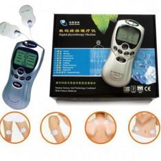 Aparat de masaj cu electrostimulare, dispozitiv fizioterapie si acupunctura
