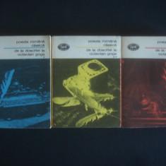 POEZIA ROMANA CLASICA - DE LA DOSOFTEI LA OCTAVIAN GOGA 3 volume - Carte poezie