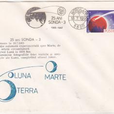 Bnk fil Plic ocazional 25 ani Sonda-3 - Botosani 1990, Romania de la 1950, Spatiu