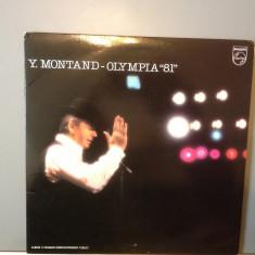 YVES MONTAND - OLYMPIA '81 -2LP BOXSET -(1981/PHILIPS REC/ FRANCE) - Vinil/Vinyl - Muzica Pop universal records