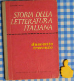 Storia della Letteratura Italiana Alexandru Balaci