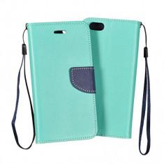 Husa Huawei Ascend Y5 Y560 Flip Case Inchidere Magnetica Mint, Albastru, Piele Ecologica, Toc