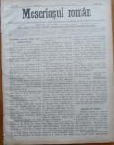 Ziarul Meseriasul Roman , nr. 19 , 1887 , Brasov