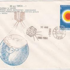 Bnk fil Plic ocazional Botosani 1990 - 30 ani TIROS_1, Romania de la 1950, Spatiu