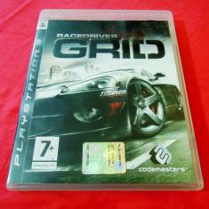 Joc Grid, PS3, original, alte sute de jocuri! - Jocuri PS3 Codemasters, Curse auto-moto, 3+, Single player