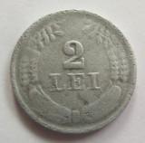 Moneda 2 Lei - ROMANIA, anul 1941 *cod 2334 Zinc!