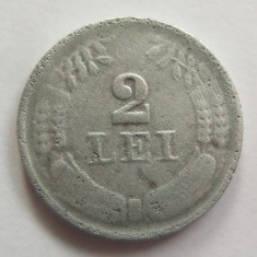 Moneda 2 Lei - ROMANIA, anul 1941 *cod 2334 Zinc! - Moneda Romania