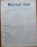 Ziarul Meseriasul Roman , nr. 24 , 1887 , Brasov