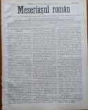 Ziarul Meseriasul Roman , nr. 16 , 1887 , Brasov