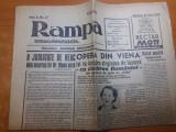 Ziarul rampa 21 iunie 1942-30 ani de la moartea lui caragiale ,art. radu beligan