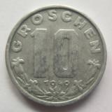 Moneda 10 Groschen - AUSTRIA, anul 1949 *cod 2330 Zinc!, Europa