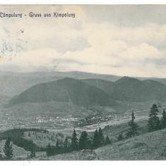 3198 - Bukowina, Suceava, CAMPULUNG - old postcard - used - Carte Postala Bucovina 1904-1918, Circulata, Printata