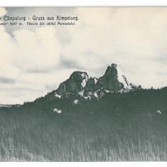 3197 - Bukowina, Suceava, CAMPULUNG, Pietrele Doamnei - old postcard - unused - Carte Postala Bucovina 1904-1918, Necirculata, Printata