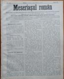Ziarul Meseriasul Roman , nr. 13 , 1887 , Brasov