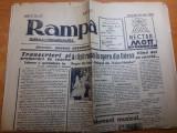 ziarul rampa 30 mai 1942 ( articolul-artisti romani la opera din odesa )