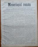 Ziarul Meseriasul Roman , nr. 21 , 1887 , Brasov