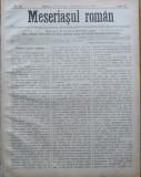 Ziarul Meseriasul Roman , nr. 20 , 1887 , Brasov