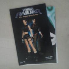 Manual - Lara Croft - Tomb Raider - Playstation PS2 ( GameLand )